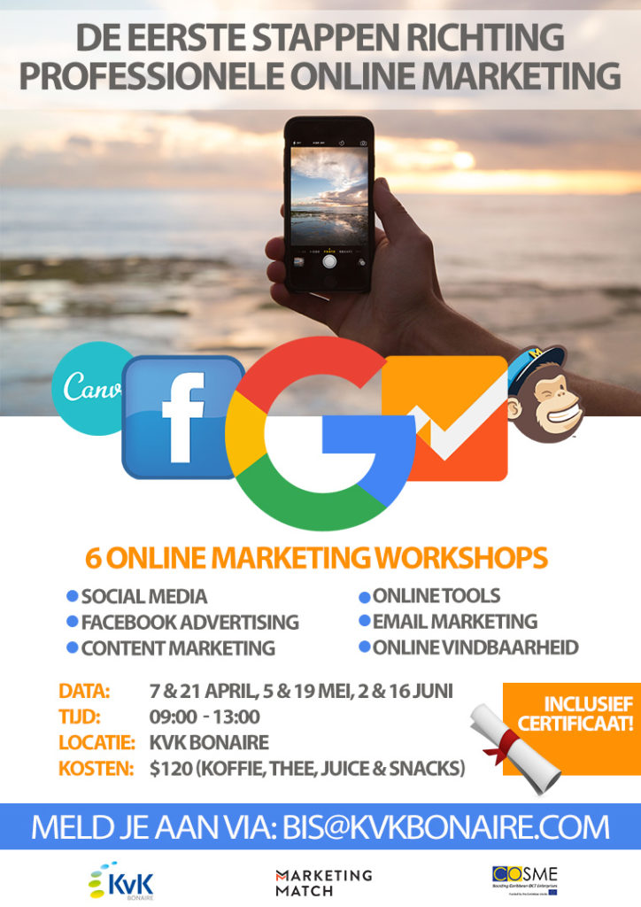 Online marketing training Bonaire